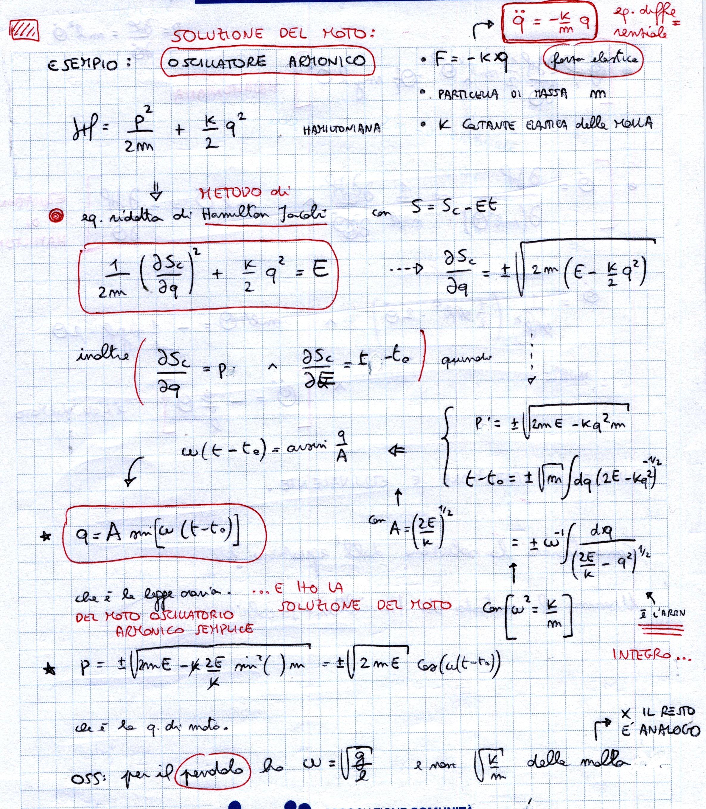 Schemi di meccanica razionale